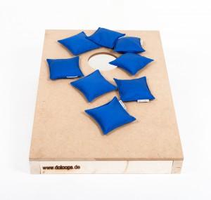 Cornhole Board + Bags